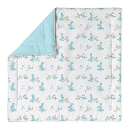 Baby Dan Bunnyhop legetæppe - Blå