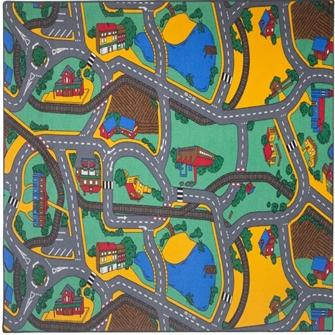 Bil Legetæppe Playtime 140 x 200 cm