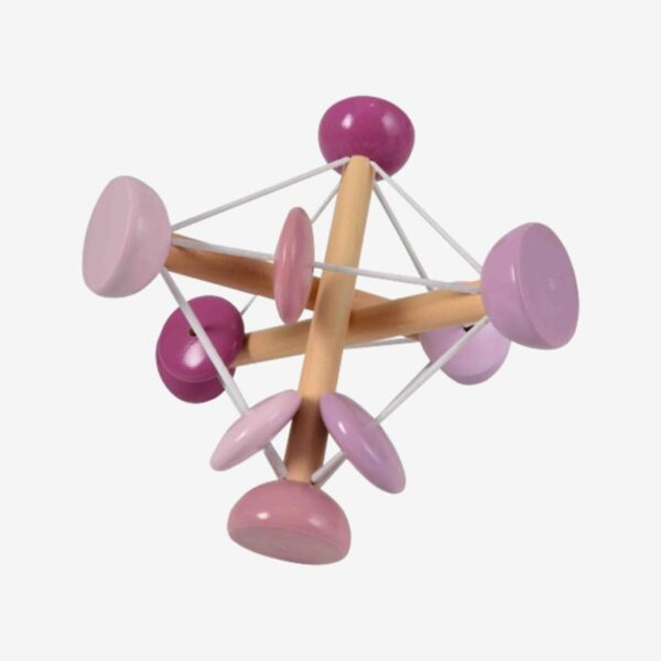 Magni aktivitetslegetøj - Elastik Rangle - Lyserød