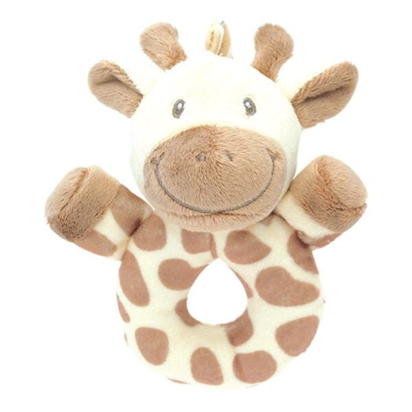 My Teddy My giraffe, creme rund rangle