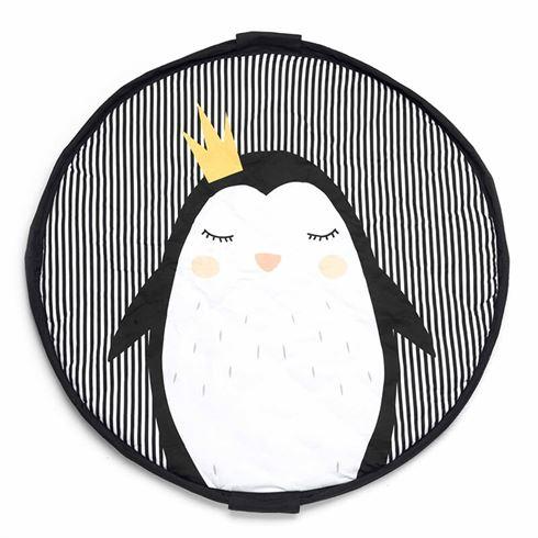 Play & go Soft, Legetæppe og opbevaring- Pinguin
