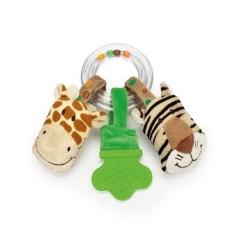 Rangle med tiger og giraf