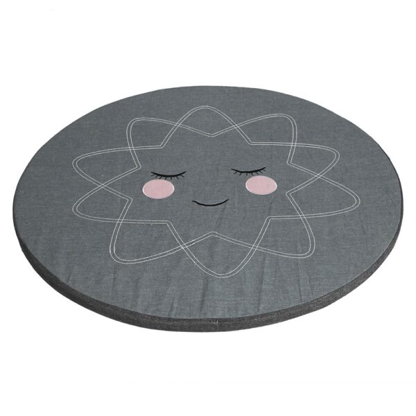 Roommate Hello sunshine legetæppe / pude til sansegynge - antracit