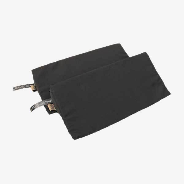 Sleepbag skumkiler til legetæppe - sort