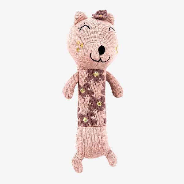 Smallstuff aktivitetslegetøj - Rangle kat - rosa