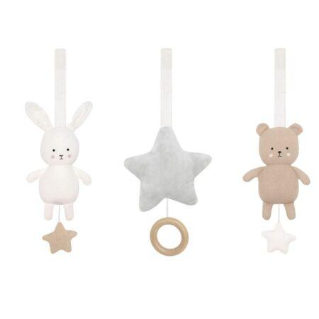 JaBaDaBaDo Baby legetøj til aktivitetsstativ - bamse og kanin
