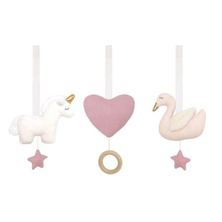 JaBaDaBaDo Babylegetøj til aktivitetsstativ - svane og enhjørning